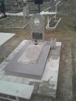 Памятник гранитная крошка, облицовка плиткой